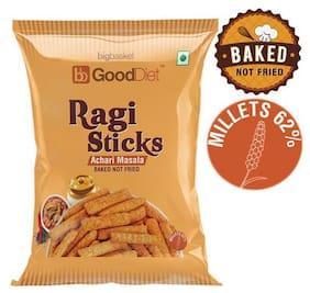 GoodDiet Ragi Sticks - Achari Masala 30 g