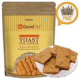 Gooddiet Toast - Dates & Hazelnut  Gluten free 150 g