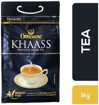 Goodricke Khaass Assam Tea (1 Kg), 100% Assam Chai with Golden leaves