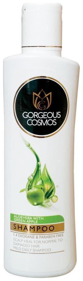 Gorgeous Cosmos Aloevera Green Apple Shampoo 200ml