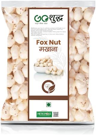 Goshudh Premium Quality Phool Makhana (Puffed Foxnut) 500g (Pack Of 1)