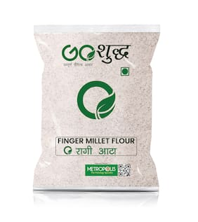 Goshudh Premium Quality Ragi Atta/Flour 1kg