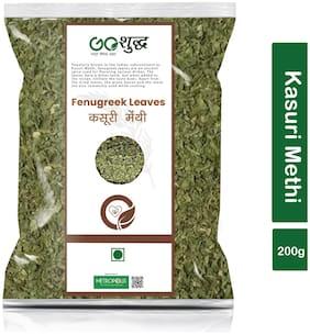 Goshudh Premium Quality Kasuri Methi (Fenugreek Leaves)-200g (Pack Of 1)