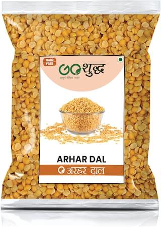 Goshudh Premium Quality Yellow Arhar Dal (Split), 750g