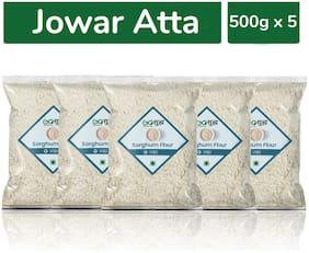 Goshudh Premium Sorghum/Jowar Atta/Flour 500g Combo (Pack of 5)