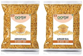 Goshudh Premium Quality Yellow Arhar Dal 750g (Pack of 2)
