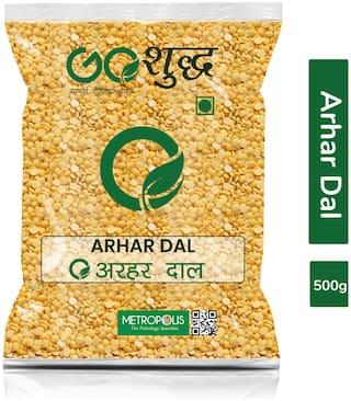 Goshudh Premium Quality Arhar/Toor Dal Split (Split Pigeon Peas)-500g (Pack Of 1)