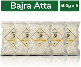Goshudh Premium Quality Bajra/Pearl millet Atta/Flour 500g Combo (Pack of 5)