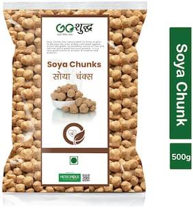 Goshudh Premium Quality Soya Chunks 500g (Pack Of 1)