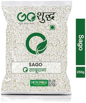 Goshudh Premium Quality Sabudana (Sago)-250g (Pack Of 1)
