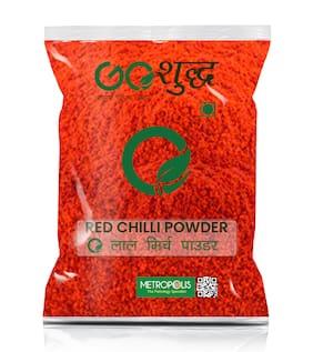 Goshudh Premium Quality Red Chilli/Pepper Powder (Lal Mirch)-500g