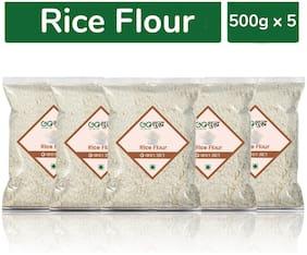 GoshudhPremium Quality Rice Flour 500g Combo (Pack of 5)