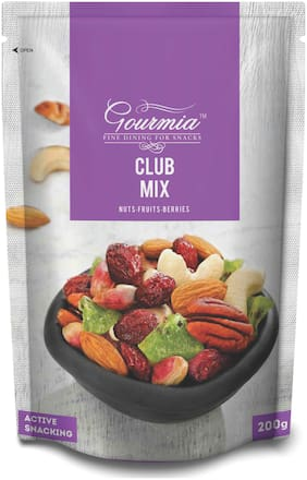 Gourmia Club Mix Nuts-Fruits & Berries Active Snacking 200g