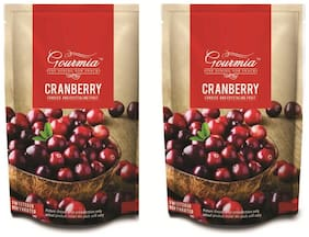 Gourmia Dried Cranberry 200gm Each (Pack of 2)