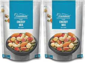 Gourmia Energy Mix Nuts & Seeds Active Snacking 200gm (Pack Of 2)