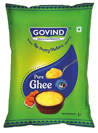 Govind Milk and Milk Products Ghee 1 L Pouch