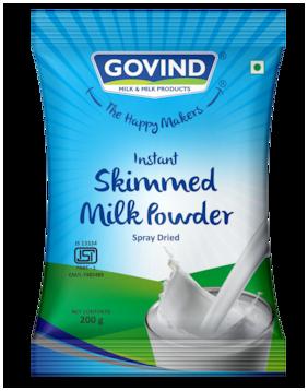 Govind Milk & Milk Prodcuts Skimmed Milk Powder 200 g