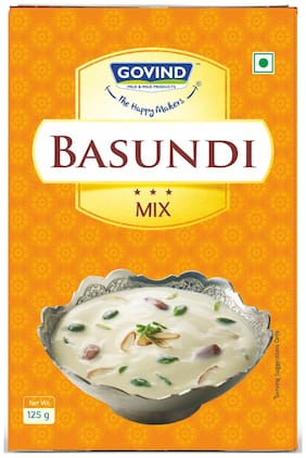 Govind Milk and Milk Products Basundi Mix 125 g (Pack of 3)