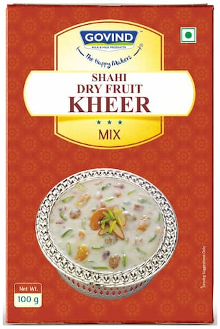 Govind Milk and Milk Products Shahi Dry Fruit Kheer Mix 100 g (Pack of 3)