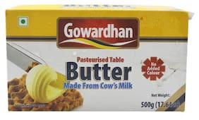 Gowardhan Table Butter - Pasteurised 500 g
