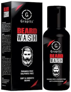 Grapits Men Beard Wash For Soft And Smooth Beard 50ml