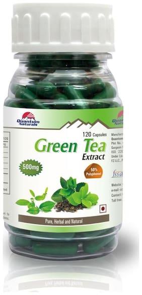 Green Tea Extract - 50% Polyphenol - 120 Capsules - 500Mg