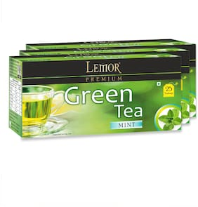 Green Tea with Mint (3 pack of 25 Tea Bag)