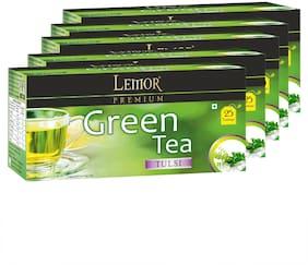 Green Tea with Tulsi (5 pack of 25 Tea Bag)