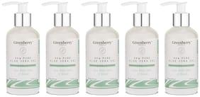 Greenberry Organics 99% Pure Aloe Vera Gel,200 ml (Pack Of 5)