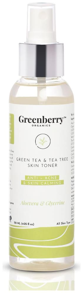 Greenberry Organics Green Tea & Tea Tree Skin Toner - 120 ml