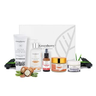 Greenberry Organics Perfect Clear Skin Box With 5 Full Size Products (Pack of 5)
