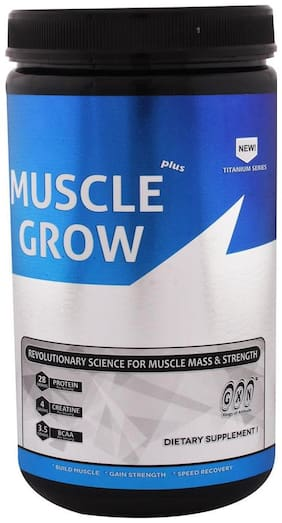 Greenex Nutrition Muscle Grow Plus 1lb Strawberry Creme