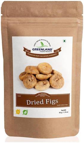 GREENLAND Dried Figs (Anjeer) 50 g -Premium Grade