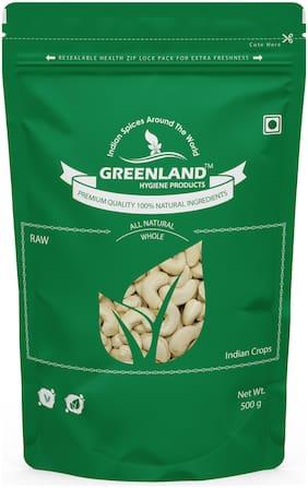GREENLAND Whole Cashew Nuts (Kaju) 2kg -Premium Grade (Pack of 4, Each 500g)