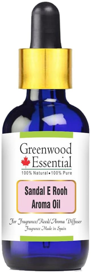 Greenwood Essential Pure Sandal E Rooh Aroma Oil (Suitable for Aroma Diffuser) 30ml
