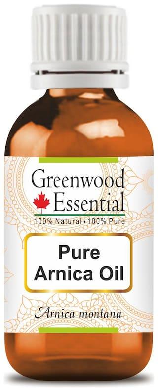 Greenwood Essential Pure Arnica Oil (Arnica montana) 100% Natural Therapeutic Grade 100ml