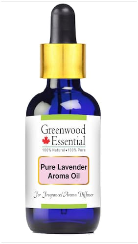 Greenwood Essential Pure Lavender Aroma Oil (Suitable for Aroma Diffuser) 100% Natural Therapeutic Grade 30ml