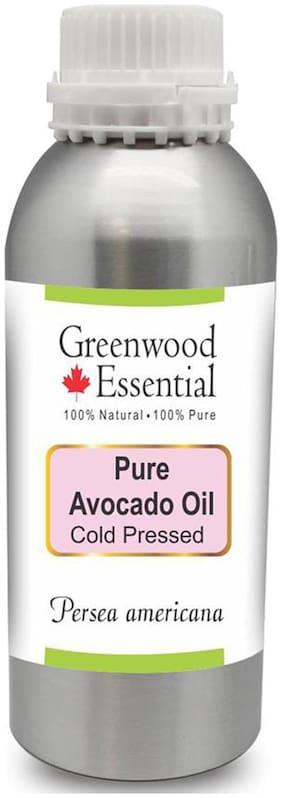 Greenwood Essential Pure Avocado Oil (Persea americana) 100% Natural Therapeutic Grade Cold Pressed 1250ml