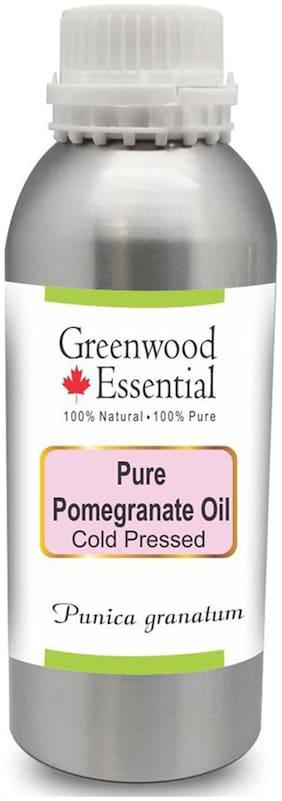 Greenwood Essential Pure Pomegranate Oil (Punica granatum) 100% Natural Therapeutic Grade Cold Pressed 300ml