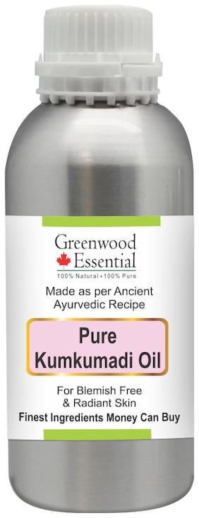 Greenwood Essential Pure Kumkumadi Oil - Premium Quality 100% Natural Therapeutic Grade 300ml