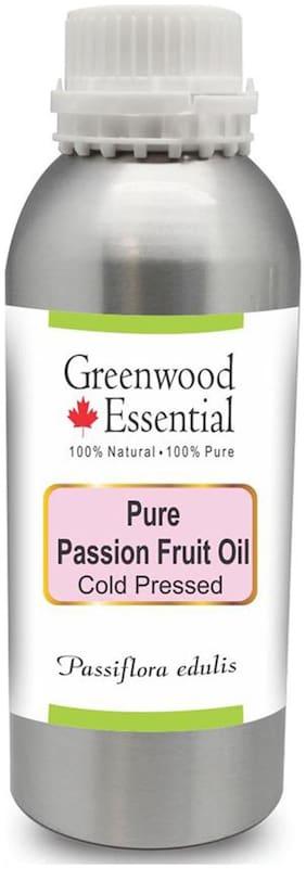 Greenwood Essential Pure Passion Fruit Oil (Passiflora edulis) 100% Natural Therapeutic Grade Cold Pressed 630ml