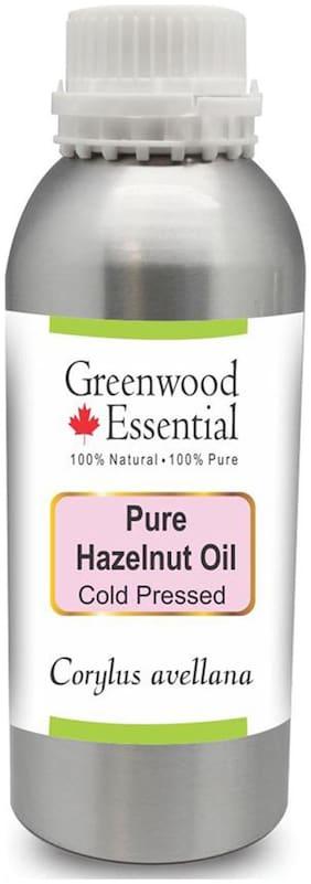 Greenwood Essential Pure Hazelnut Oil (Corylus avellana) 100% Natural Therapeutic Grade Cold Pressed 300ml