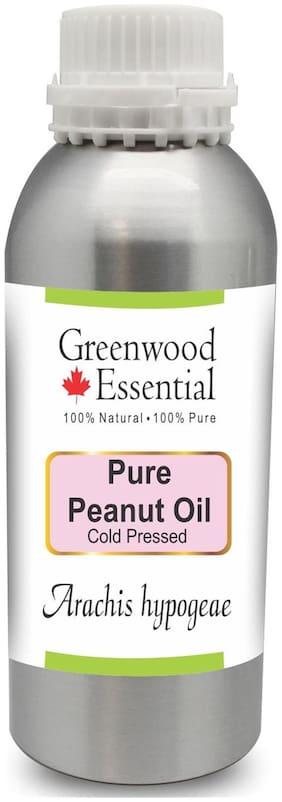 Greenwood Essential Pure Peanut Oil (Arachis hypogeae) 100% Natural Therapeutic Grade Cold Pressed 1250ml