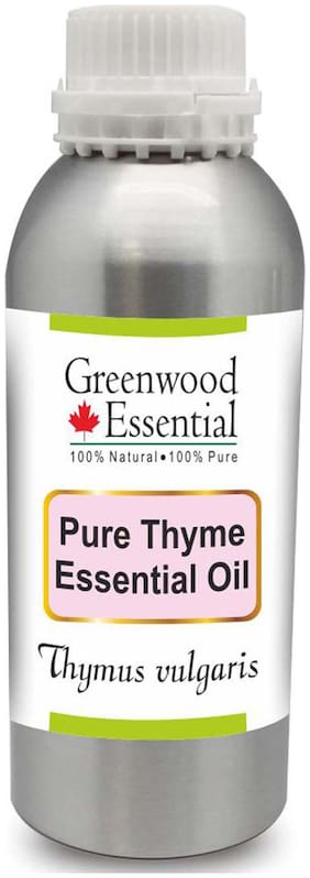 Greenwood Essential Pure Thyme Essential Oil (Thymus vulgaris) 100% Natural Therapeutic Grade Steam Distilled 630ml