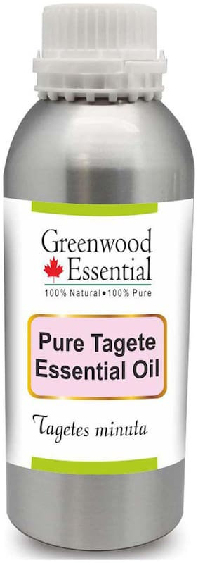 Greenwood Essential Pure Tagete Essential Oil (Tagetes minuta) 100% Natural Therapeutic Grade Steam Distilled 300ml