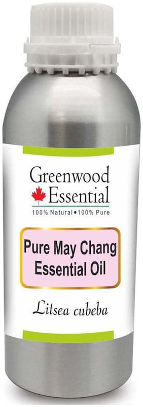 Greenwood Essential Pure May Chang Essential Oil (Litsea cubeba) 100% Natural Therapeutic Grade Steam Distilled 1250ml