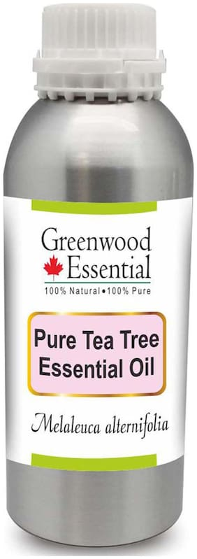 Greenwood Essential Pure Tea Tree Essential Oil (Melaleuca alternifolia) 100% Natural Therapeutic Grade Steam Distilled 300ml