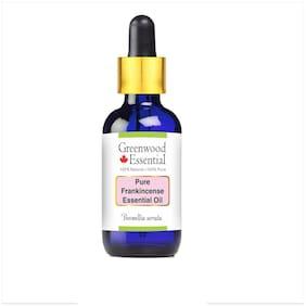 Greenwood Essential Pure Frankincense Essential Oil (Alpha Thujene 70%) Boswellia serrata with Glass Dropper 100% Natural Therapeutic Grade 100ml