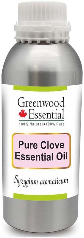 Greenwood Essential Pure Clove Essential Oil (Syzygium aromaticum) 100% Natural Therapeutic Grade Steam Distilled 630ml