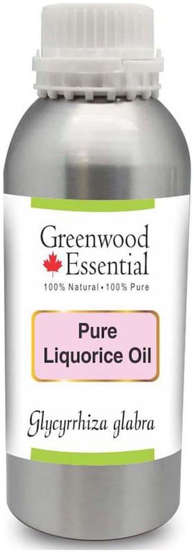 Greenwood Essential Pure Liquorice (Licorice) Oil (Glycyrrhiza glabra) 100% Natural Therapeutic Grade 1250ml